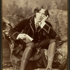 Oscar Wilde 1882 Number 18 by Sarony which led to a famous case in the Supreme Court that established the law of copyright for photographs