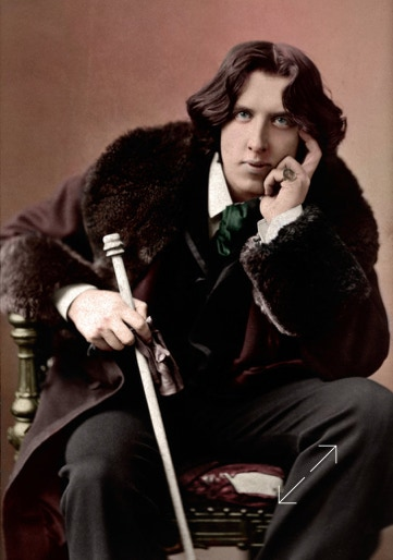 Colorized picture number 22 of Oscar Wilde by Sarony